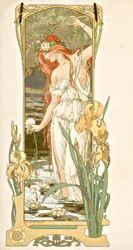 art classique francais - Page 13 Clay Art Projects, Recycled Art Projects, Alphonse Mucha, Art Nouveau, Voyage Florence, Art Photography Portrait, Portraits, Creation Photo, Modern Art Deco