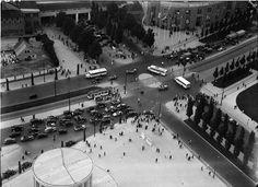 Berlin: Rund um den Funkturm; Kreuzung: Messedamm-Masurenallee (1936)