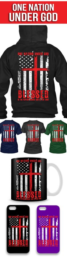 One Nation Under God! Click The Image To Buy It Now or Tag Someone You Want To Buy This For. #christianity