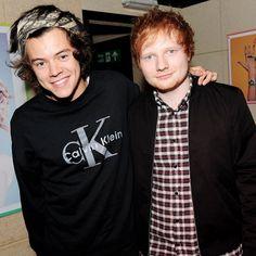 Pin for Later: Ed Sheeran hat was über Harry Styles' bestes Stück zu sagen