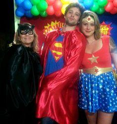 Irmã e sobrinhos lindos - aniversário de Bento - Julho 2015 - Boa Ventura - Itaperuna - RJ