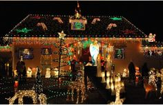 An impressive display of Christmas lights is not only enjoyable for you and your family; it spreads a little joy around the whole neighbourhood.