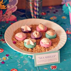 little mermaid birthday party food ideas - Google Search