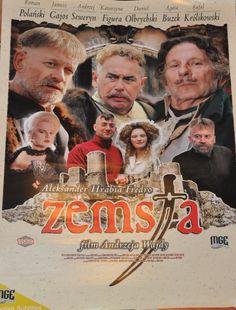 Original Zemsta Movie Poster 2002 Roman Polanski