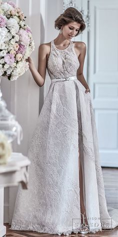 dad52f25ebf Maison Signore s Stunning 2018 Wedding Dresses — You don t want to miss  this trunk show in New York
