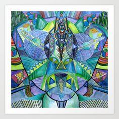 """wasp"" Art Print by Rachna Radar - $12.48"