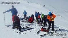 Zagros Range Skiing - 11 February 2017 www.Atouradventure.com/ #Damavand #Damavandclimb #Damavandtrek #damavandtour #mtDamavand #Damavandski