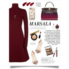 ... by yexyka on Polyvore featuring Dorothee Schumacher, Gianvito Rossi, Fendi, Chloé, Casetify, Charlotte Tilbury, Ellis Faas, Kevyn Aucoin and Nails Inc.