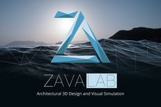 Zavalab, architecture and 3D design. Logo Design by markos-esther