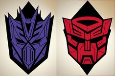 Now that I have my redesigned Decepticon Logo tattooed on my right shoulder I decided it was time to create a Autobot redesign for my left shoulder.
