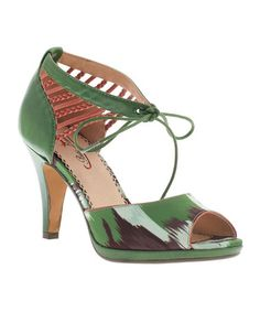 Love this Green A Sure Combo Ankle-Strap Pump by Poetic Licence on #zulily! #zulilyfinds