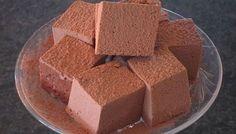 CUADRADOS DE CHOCOLATE    Aunque no lo creas, estos deliciosos cuadrados de chocolate son saludables y no tienen azúcar    Optimismo que nos une