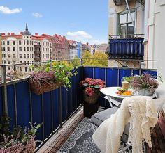 Открытые балконы - глоток свежего воздуха в квартире