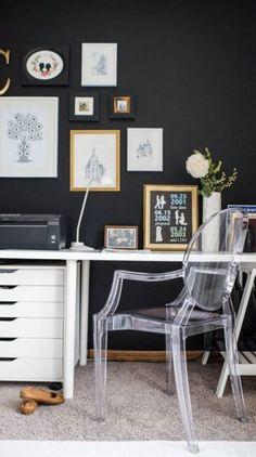 10 Easy Ways To Create A Stylish Home Office via @stylelistcanada