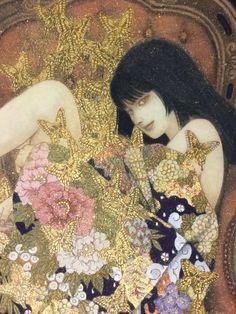 メディアツイート: 笹本正明(@halsan2014)さん | Twitter  『ひそやかに翔ぶ』 Japanese Art Modern, Japanese Artists, Manga Art, Anime Art, Ero Guro, Art Asiatique, Japanese Painting, Japan Art, Klimt