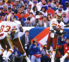 Twenty-five seasons after he was named Most Valuable Player of Super Bowl XXII, former Redskins quarterback Doug Williams continues to have success coaching at his alma mater. Description from blog.redskins.com. I searched for this on bing.com/images