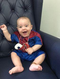 Pietro!!! Que lindo Homem Aranha!  www.ofanfarrao.com.br