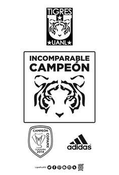 @CLUB TIGRES Incomparable Campeón • Adidas