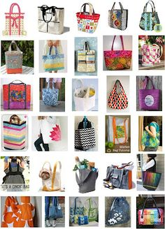 30 Free Tote Bag Patterns Just In Time For Back To School Or Holiday Projects We Ve Assembled A Collection Of Sewing Bags And