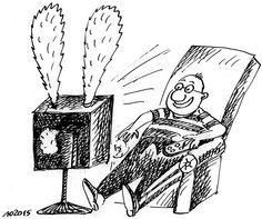 Телеканали еротичного змісту. #WZ #Львів #Lviv #Новини #Карикатура