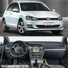 Volkswagen Golf Comfortline 1.0 TSI 2017 Hatch médio vem agora com opção de motor 1.0. Mas trata-se do bloco turbo que rende 125 cavalos e torque de 200 Nm. O câmbio é manual  de seis marchas. Ele pode ser seu por R$ 74.990. Segundo a Volkswagen o Golf Confortline TSI faz de 0 a a100 km/h em 97 segundos com velocidade máxima de 194 km por hora. Em relação ao consumo o Golf 1.0 faz  119 km/l na cidade e 143 km/l na estrada com gasolina. Abastecido com etanol são 84 km/l na cidade e 101 km/l…