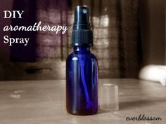 Use this aromatherapy spray to freshen a room, linens, your clothes, and skin ~ with uplifting aromatherapy benefits!
