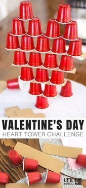 Valentines Day Physics Activities You Can Actually Do With Kids! - Heidi Geebs - Valentines Day Physics Activities You Can Actually Do With Kids! Valentines Day Physics Activities You Can Actually Do With Your Kids! Kinder Valentines, Valentine Crafts For Kids, Valentines Day Food, Valentines Day Activities, Valentines Day Decorations, Valentines Day Hearts, Valentine Party, Saint Valentine, Valentine Games