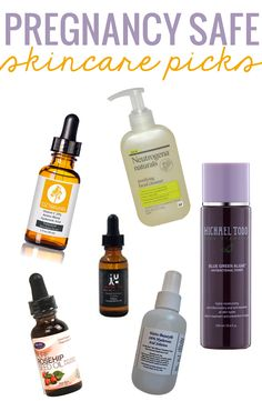 Pregnancy Safe Skin Care Picks. All-natural and simple ingredients. Addresses anti-aging, breakouts, hydration, and hyperpigmentation.