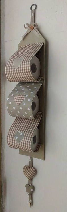 PAPER ROLL HOLDER for toilet paper by LaBottegaDeiCuriosi on Etsy