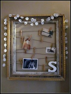 Photo Frame, cute wall decor!