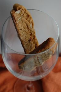 Ginger Biscotti recipe