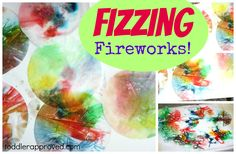 Toddler Approved!: Fizzing Fireworks #readforgood