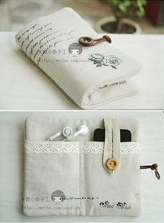 How to make your cool iphone bag step by step DIY tutorial instructions, How to, how to make, step by step, picture tutorials ❥Teresa Restegui http://www.pinterest.com/teretegui/❥