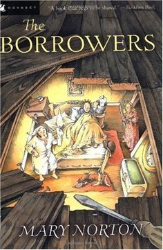 The Borrowers...loved this book when I was a girl. I must have read it a hundred times. I still collect miniatures because of this book.