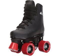 Amazon.com : Roller Derby 1378-02 Youth Boys Firestar Roller Skate, Size 2, Black/Gray : Sports & Outdoors Black Roller Skates, Best Roller Skates, Outdoor Roller Skates, Kids Roller Skates, Kids Skates, Quad Skates, Roller Derby, Roller Rink, Roller Skating