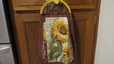 Hanging Kitchen Towel Hanging Hand Towel by Crystalscraftycorner
