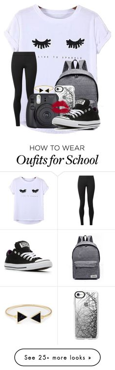 """""""Contest entry- Favorite color"""" by cassieq6929 on Polyvore featuring Chicnova Fashion, WithChic, Casetify, The Row, Fujifilm and Converse"""