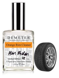 Who could resist the tempting scent of Orange Rim Cleaner? | Community Post: The Weirdest And Best Perfume Line You Could Wish For