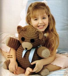 crocheted toys - tutorials in russian Amigurumi Tutorial, Amigurumi Patterns, Crochet Patterns, Crochet Toys, Crochet Baby, Knitting Toys, Bear Toy, Teddy Bear, Little Monsters
