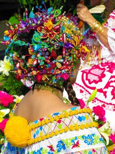 Carnevals in Panama! Pollera .. Traditional clothing of Panama!