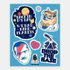 Science Fan | Stickers, Sticker Sheets and Vinyl Stickers | HUMAN