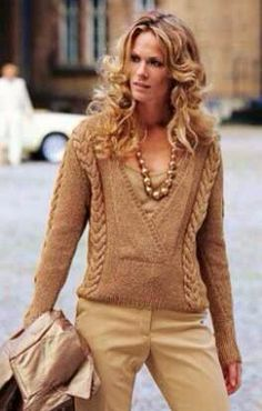 NOW THIS is fashion over 40 Hand knit from ETSY