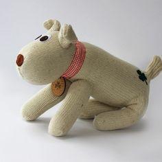 Irish Sockdogs Beautiful Dogs, Dog Tags, Irish, Dinosaur Stuffed Animal, Felt, Teddy Bear, Socks, Beige, How To Make