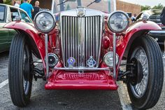 https://flic.kr/p/wLA7Hu   MG Roadster   4th Anniversary Coffee and Cars in Oklahoma City.