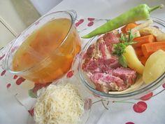 Füstölt húsleves, kuktában főzve Pork, Kale Stir Fry, Pork Chops