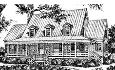 Lowcountry Style Comfort - Spitzmiller and Norris, Inc. | Southern Living House Plans