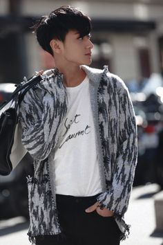 """Z.TAO x YSL in Paris Fashion Week """