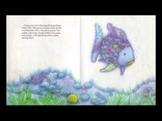 """Story-telling/ song/ potential craft session- Book """"Rainbow Fish"""" told through song. Primary Teaching, Teaching Music, Primary Music, Rainbow Fish Activities, Carnival Of The Animals, Ocean Unit, School Videos, Ocean Themes, Book Week"""