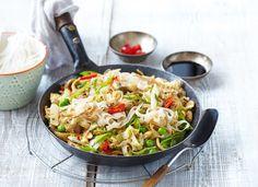 JenProŽeny » RECEPT DNE: Rýžové nudle s čínským zelím a hráškem