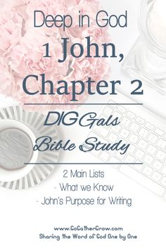 Bible Study | 1 John 2 | Inductive Bible Study Method | Inductive Study Approach